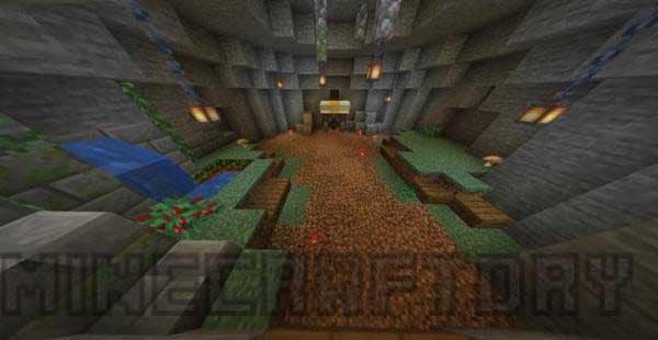 Caveblock Map para Minecraft 1.16 y 1.15