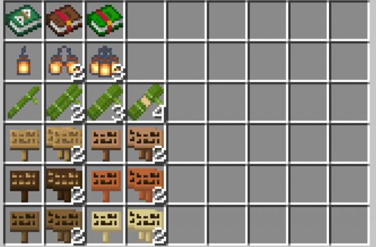 Dasher´s Stacked Items Resource Pack