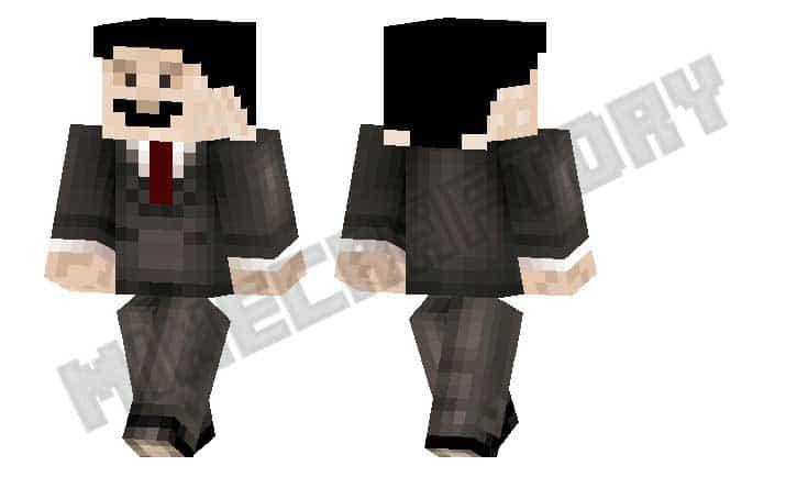 Skins traje negro para Minecraft