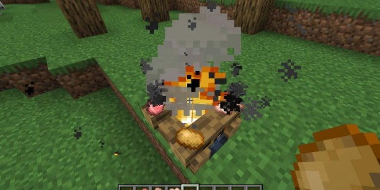 Campfire Torches Mods 1.16.3 , 1.16.2