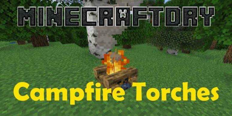 Campfire Torches Mod 1.16.3