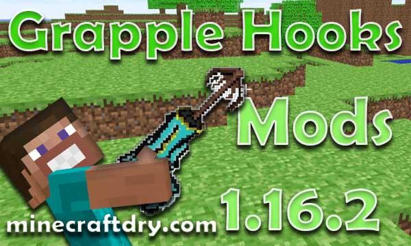 Mods Grapple Hooks para minecraft 1.16.2