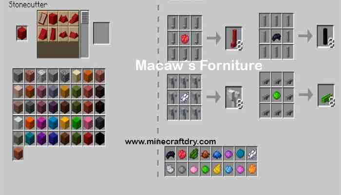 macaw´s trapdoors recipes
