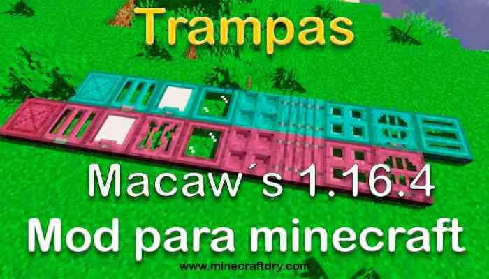 trampas para minecraft 1.16.4 descarga gratis trapdoors