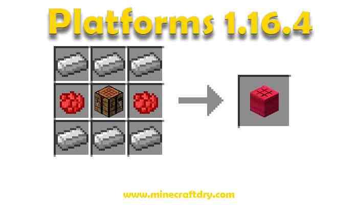 platforms 1.16.4  minecraft