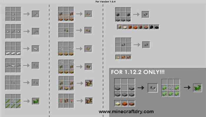 recipes macaw´s trapdoors minecraft recetas para minecraft 1.16.4