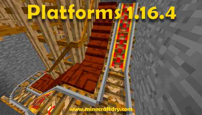 Plataforms mod para minecraft 1.16.4