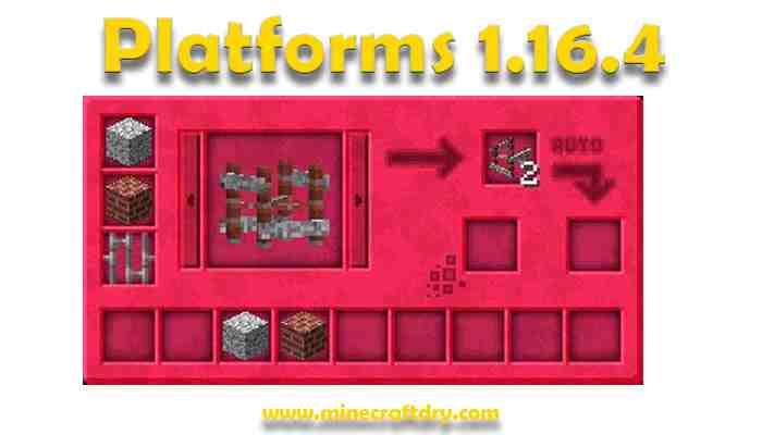 Platforms Mod Para Minecraft