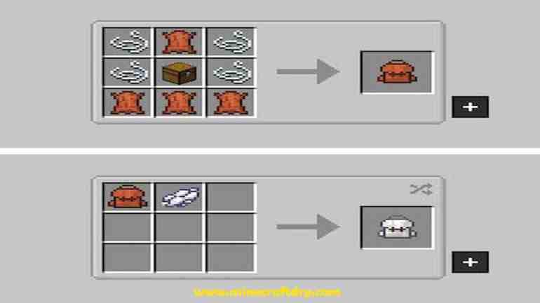 mochilas minecraft 1.16.4
