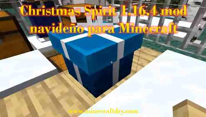 christmas spirit para minecraft 1.16.4