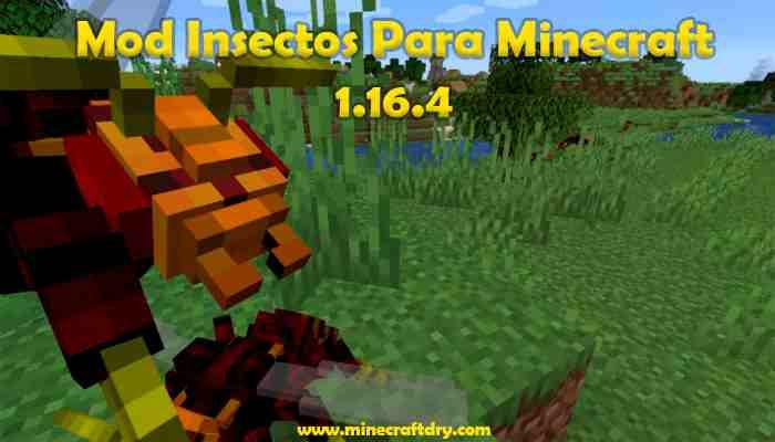 Mod Insectos Para Minecraft 1.16.4
