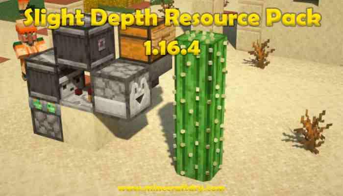 Slight Depth Resource Pack Para Minecraft 1.15.2
