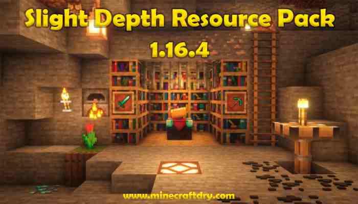 Slight Depth Resource Pack Para Minecraft 1.16.4