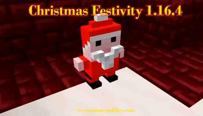 christmas festivity 1.16.4 para minecraft