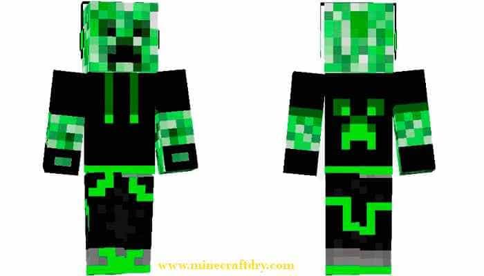 skins minecraft creeper , skins minecraft 1.7.2