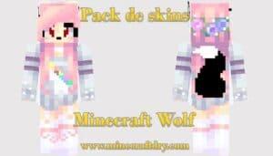 skins minecraft wolf