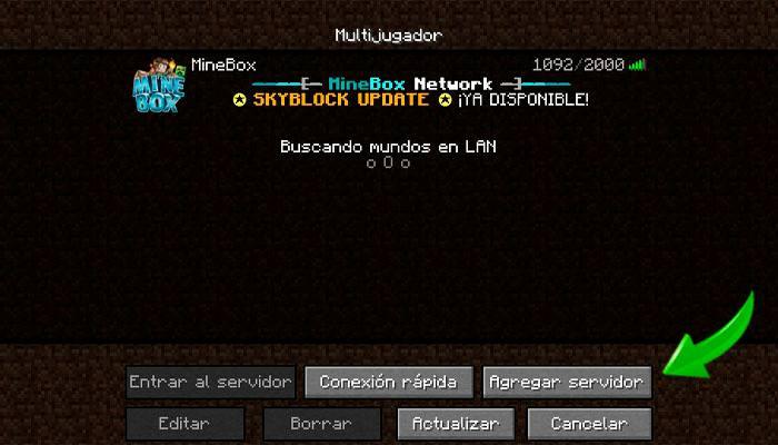 server on minecraft
