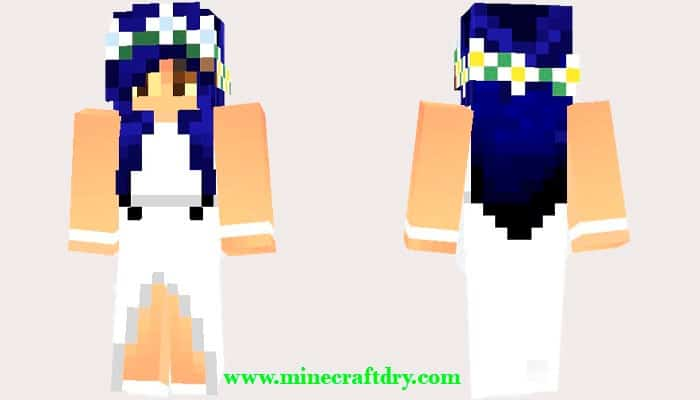 skin de mujer de minecraft
