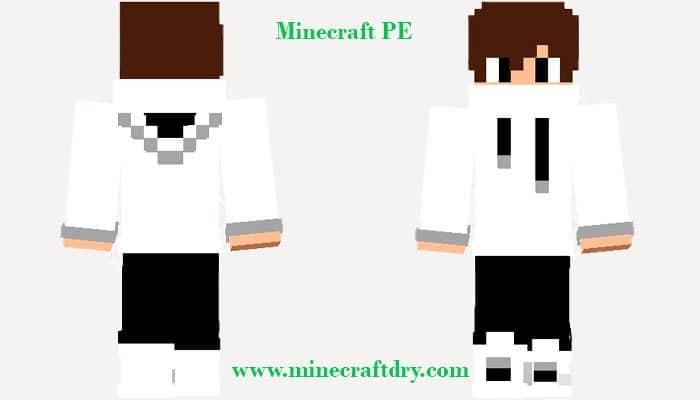 skin on minecraft pe