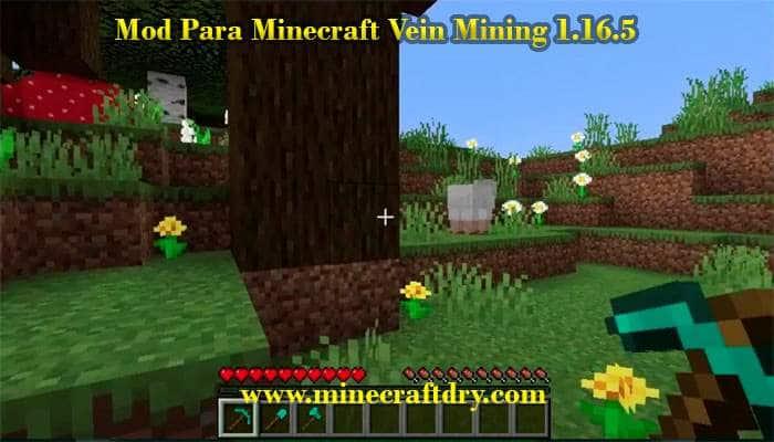 mod de minecraft vein mining 1.16.5