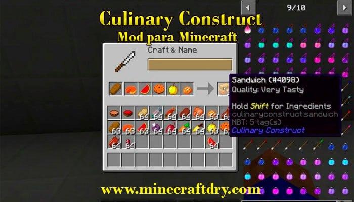 mod de comida para minecraft 1.16.5