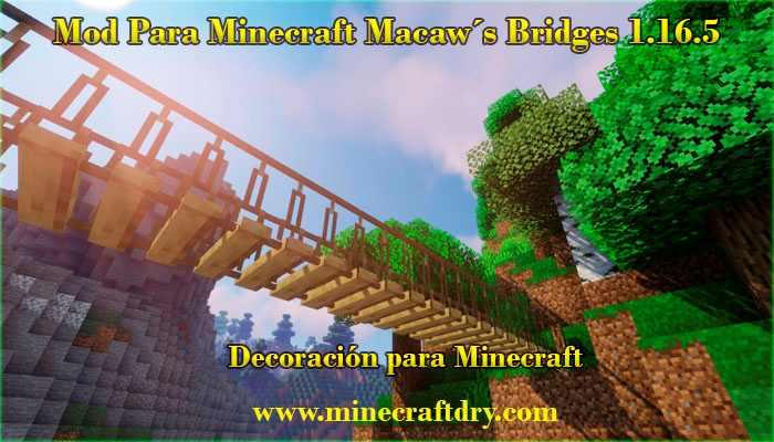 puentes para minecraft