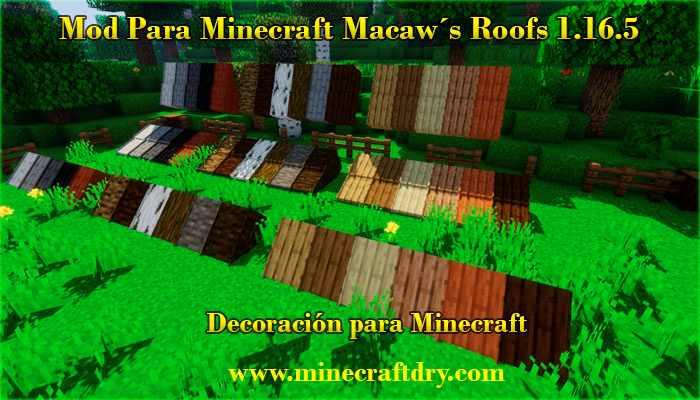 decoración para minecraft 1.16.5