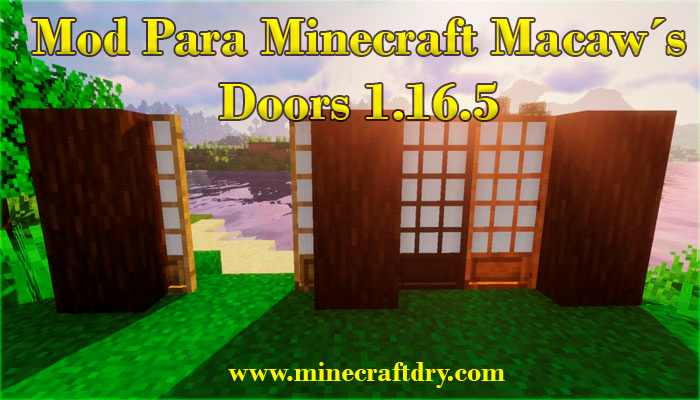 mod de puertas para Minecraft