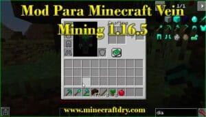 mod para minecraft vein mining 1.16.5