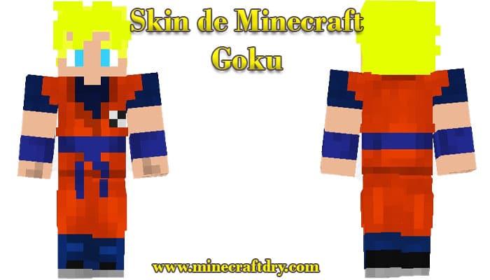 skin de minecraft de goku