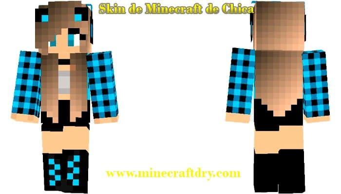 skin de minecraft para descargar de mujer