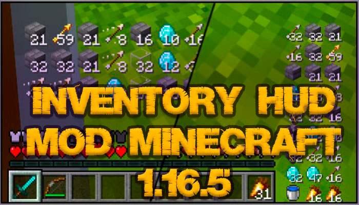 inventory hud mod minecraft 1.16.5