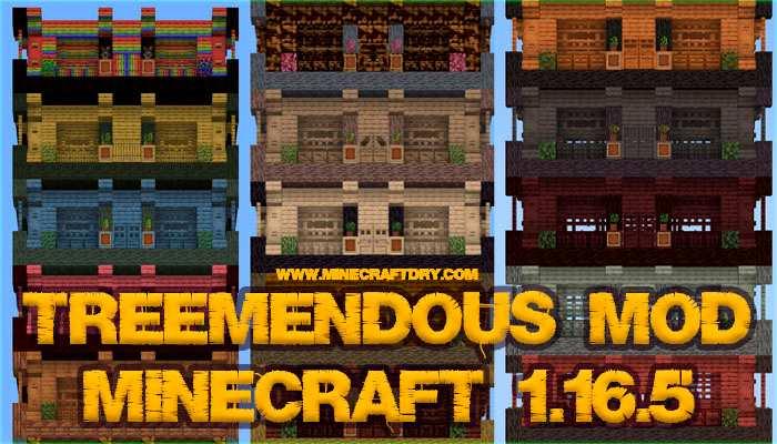 treemendous mod minecraft 1.16.5