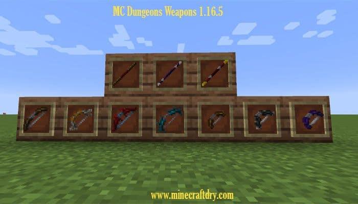 arco y flecha para minecraft dungeons