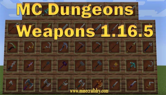 armas para minecraft 1.16.5