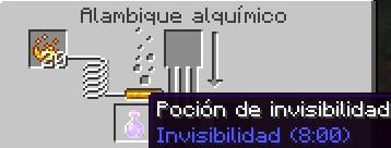 poción de invisibilidad para minecraft