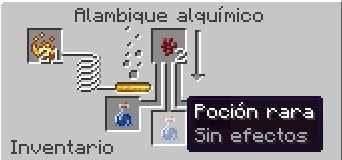 poción rara minecraft