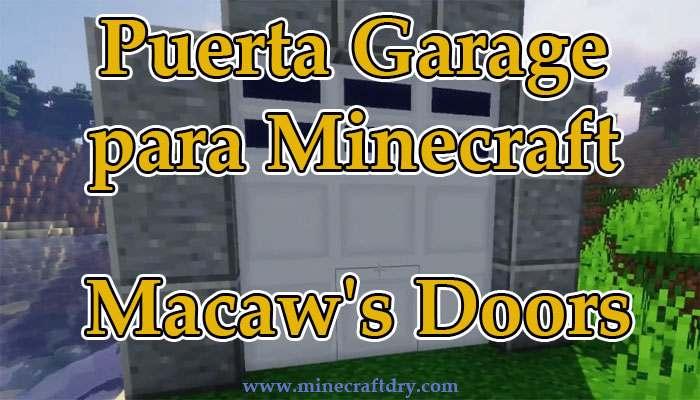 garage para minecraft 1.16.5 version 1.0.3