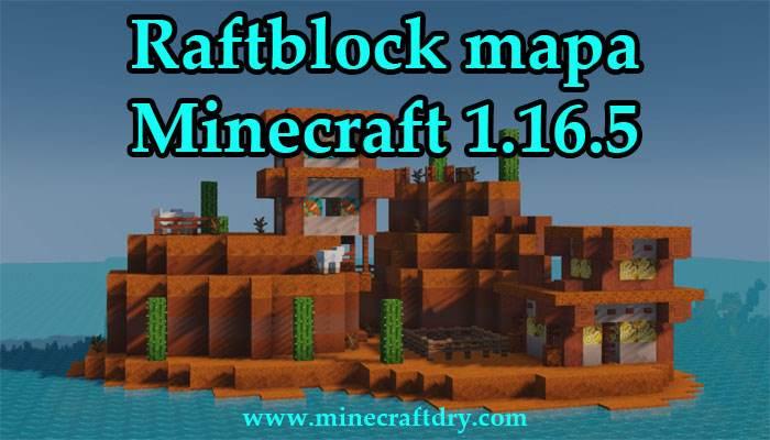 Raftblock mapa minecraft