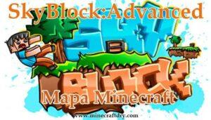 mapa minecraft skyblock
