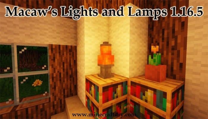 lampara decorativa para minecraft 1.16.5