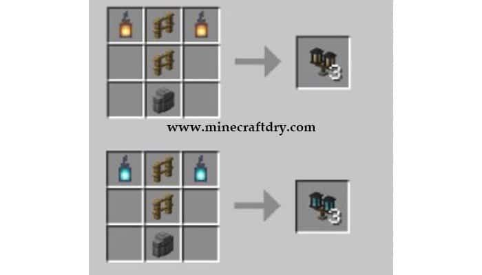 recetas de faroles para minecraft 1.16.5