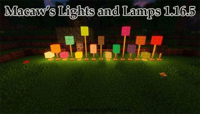 otras lamparas decorativas para minecraft 1.16.5