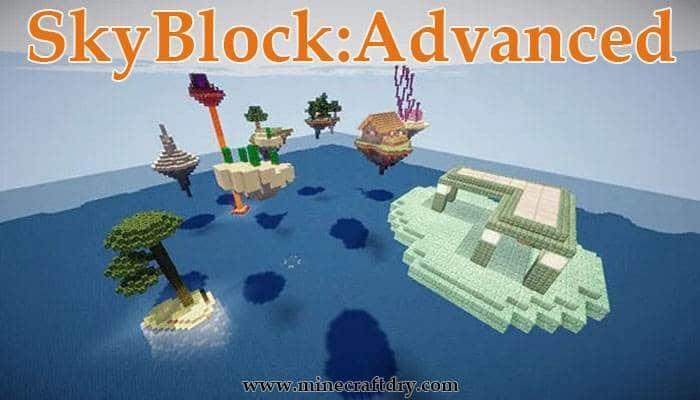 mapa minecraft skyblock 1.16.5 supervivencia