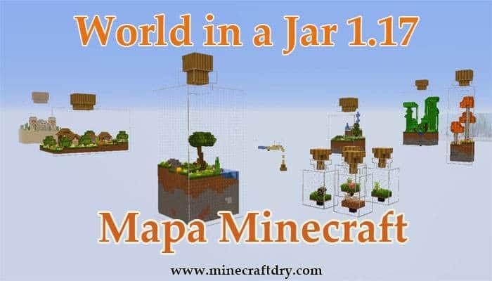 mapa Minecraft 1.17