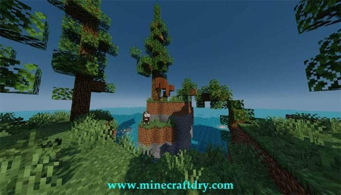 mapa de supervivencia Minecraft 1.16.5 raftblock