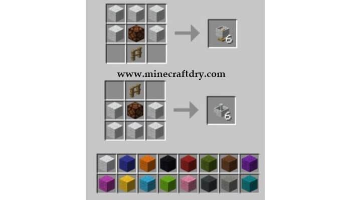 recetas lamparas minecraft 1.16.5 recipes