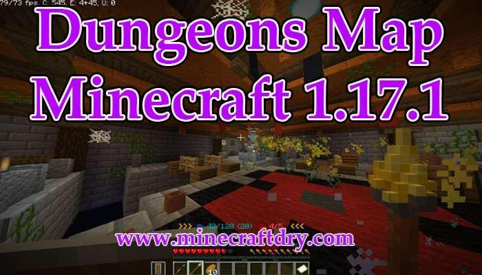 mapa minecraft dungeons 1.17.1