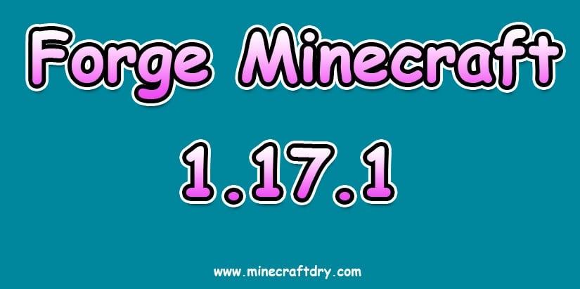 forge minecraft 1.17.1